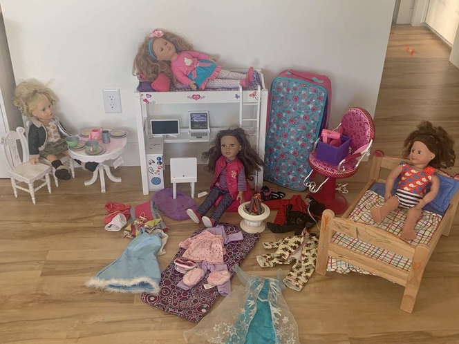 OG and Journey Doll Collection for sale in Farmington , UT
