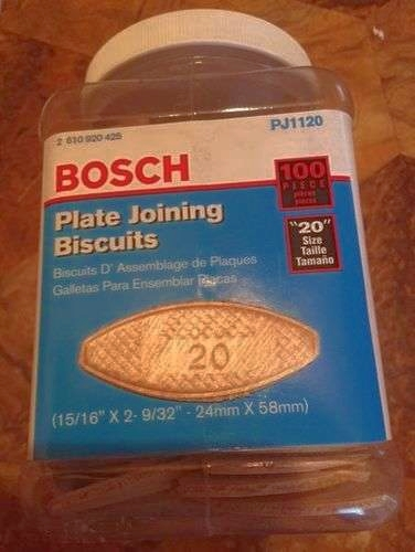Bosch Plate Joining biscuits for sale in Kearns , UT