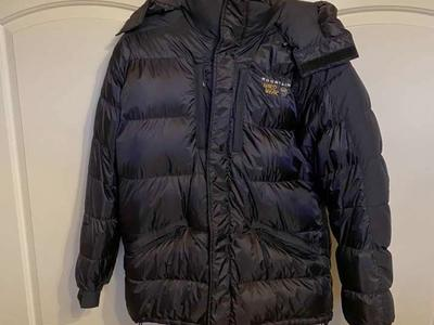 Mountain Hardwear Baffled Down Parka Jacket Mens L