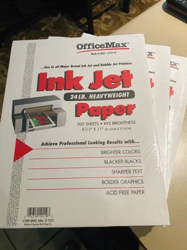 Ink Jet 24 lb. Heavyweight Paper  for sale in Holladay , UT