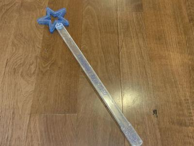 Cinderella's Royal Table Blue and Silver Wand