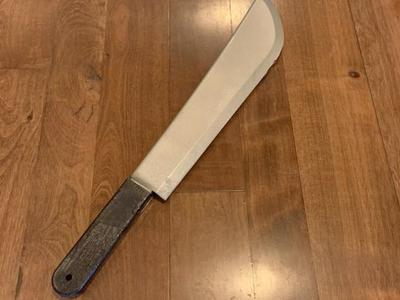 Faux Machete Knife Scary Costume Accesory