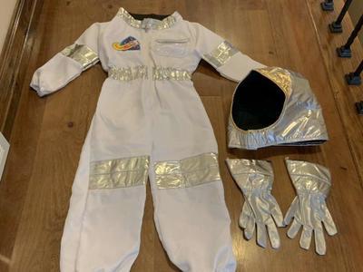 Melissa And Doug Astronaut Costume Size 3-6