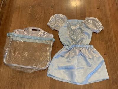 Girls Disney Cinderella Costume Size 4-6