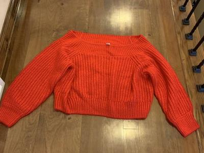 Women's Red Sweater Size XL Scooby Doo Thelma