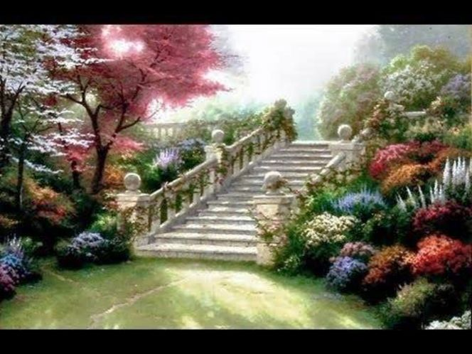 Stairway to Paradise by Thomas Kinkade for sale in Orem , UT