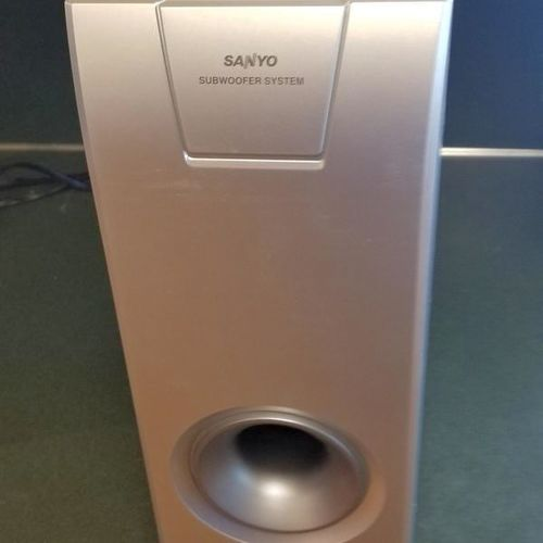 SUBWOOFERS- Sanyo TS750W new- scratch & dent sale! for sale in Layton , UT