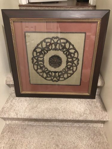 Beautiful Framed & Matted Cast Iron Wall Decor! for sale in Sandy , UT