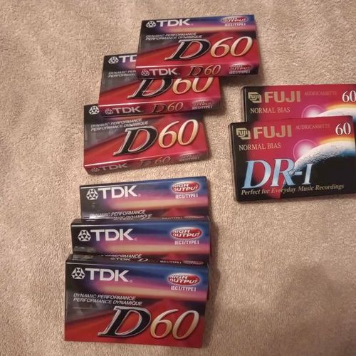 Blank cassette tapes for sale in North Salt Lake , UT