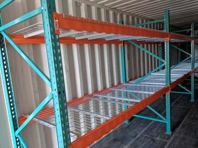 New Storage Metal Shelving for Garage-Business-Food Storage-Shipping Container-Boltless Heavy Duty Shelves-Commercial-Industrial