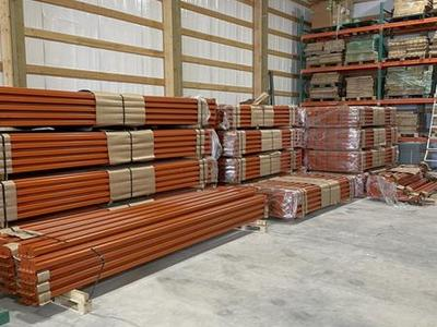 Brand New!!! Pallet Racking Beams