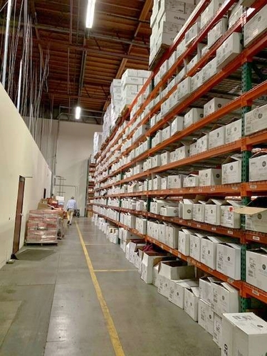 Used Pallet Racking-Industrial Pallet Rack-Warehouse Shelving/Shelves-Teardrop Beams-Uprights-Wire decking-Material Handling for sale in West Haven , UT