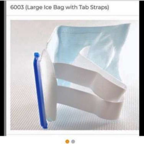 Kerma Large Ice Bags W/Elastic Strap Case Of 30 for sale in Lindon , UT