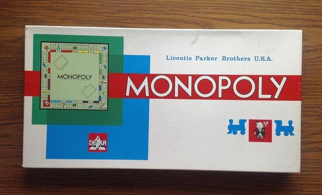 MONOPOLY 1961. French Walloon monopoly board game for sale in Ogden , UT