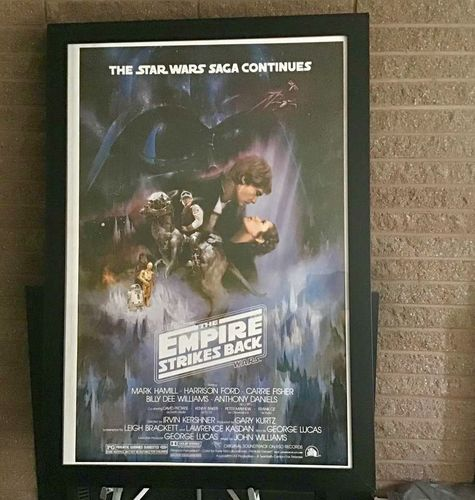 Star Wars The Empire Strikes Back Large Poster  for sale in Ogden , UT