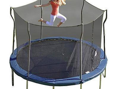 NEW 12' Kinetic Trampoline with Enclosure