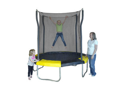 NEW 7' Kinetic Trampoline Indoor/Outdoor/Enclosure