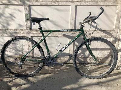 GT All Terra Borrego Triple Triangle Bike