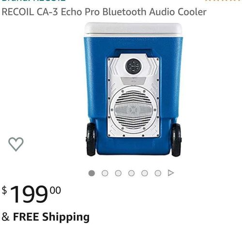 BRAND NEW- Audio Bluetooth Cooler 39 liter for sale in West Jordan , UT