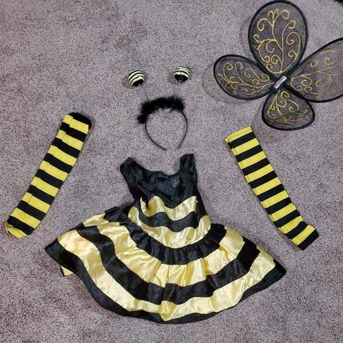 Halloween Bumblebee costume size 4T for sale in Roy , UT