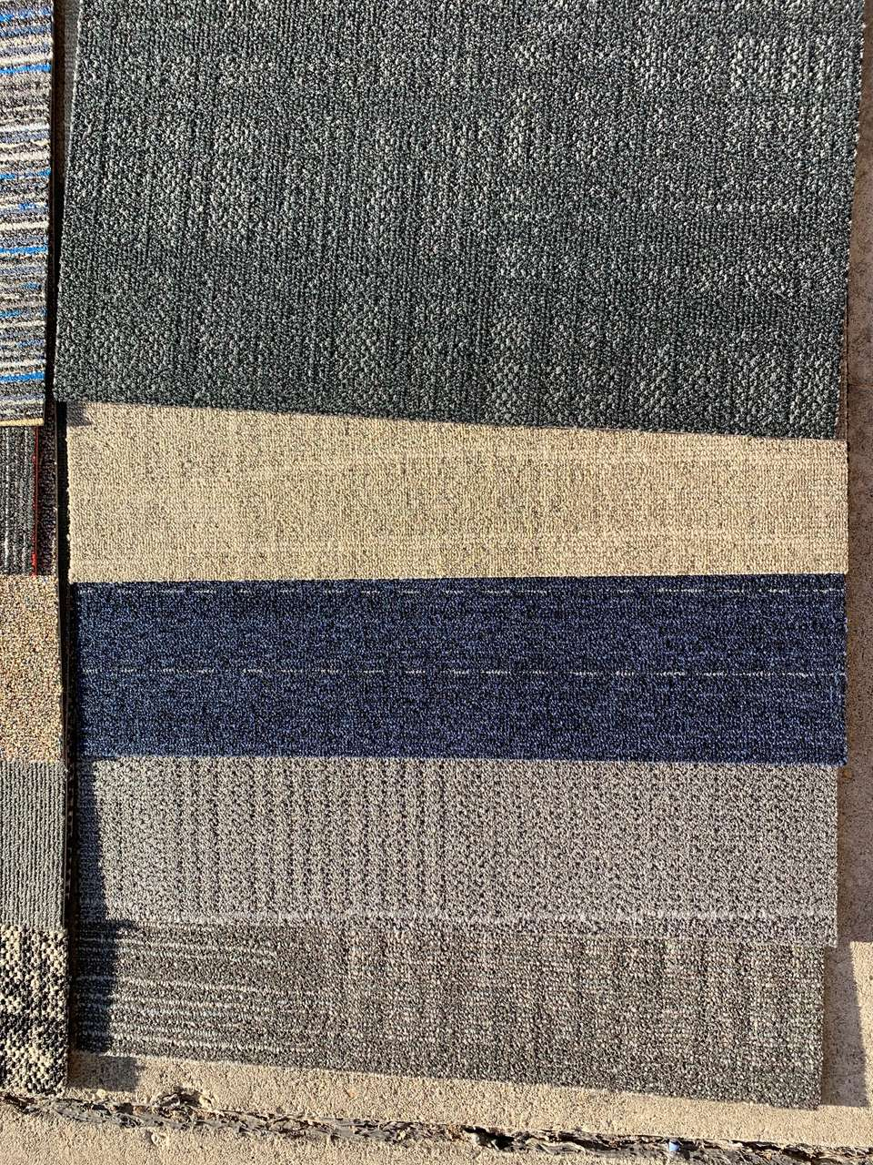 "Assorted Carpet Tiles 24"" (New)"