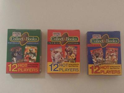 1990 Pro Set Collect-A-Books Football Set Series