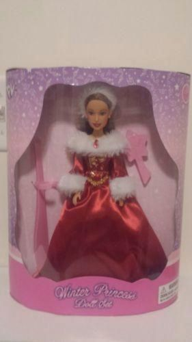 Winter Princess Doll Set- Beautiful Red Dress- NIB for sale in West Jordan , UT