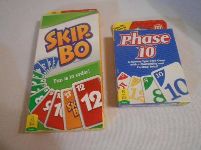 SkipBo & Phase 10 Bundle-2 Excellent  Games- NIB for sale in West Jordan , UT