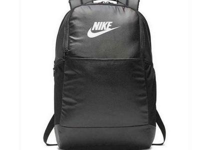 NIKE- BRASILIA TRAINING BACKPACK BLACK/WHITE- BA6124-013 - NWT
