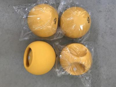 4 - One Handle 2 Lbs. Medicine Ball