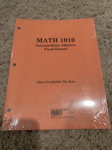 Math 1010 Final Exams OBO for sale in West Jordan , UT