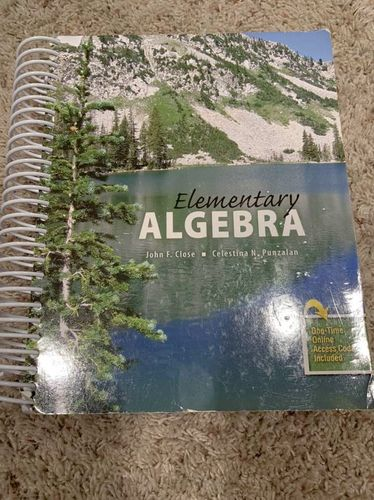 Elementary Algebra  OBO for sale in West Jordan , UT