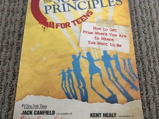 THE SUCCESS PRINCIPLES FOR TEENS by CANFIELD HEALY for sale in Riverton , UT