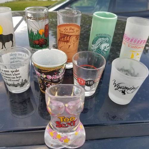SHOT GLASS COLLECTION for sale in Nephi , UT