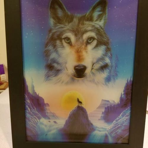 3D WOLF PICTURE for sale in Nephi , UT