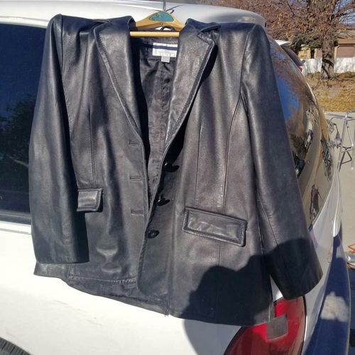 LEATHER COAT for sale in Nephi , UT