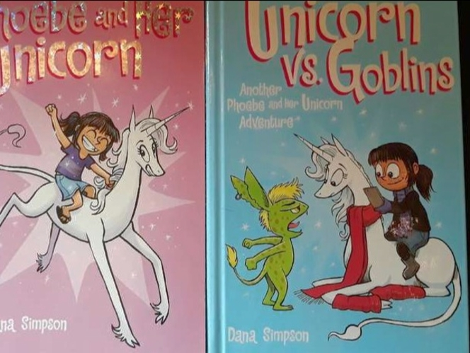 Phoebe and Her Unicorn Graphic Novels (1-3) for sale in Bountiful , UT