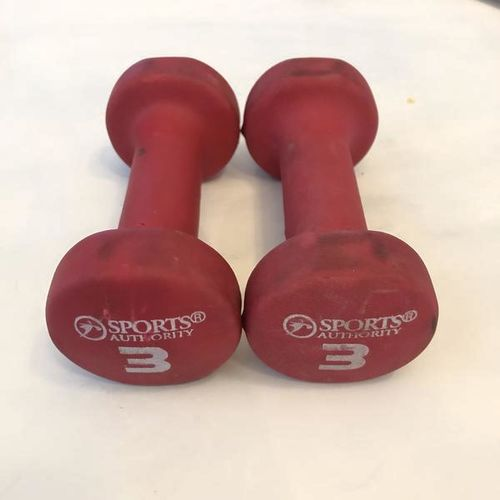 Pair of 3lb Dumbbells for sale in Syracuse , UT