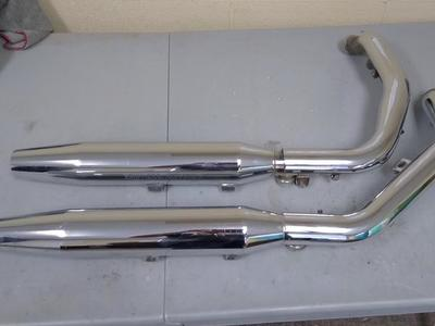 Harley Davidson Sportster exhaust mufflers pipes