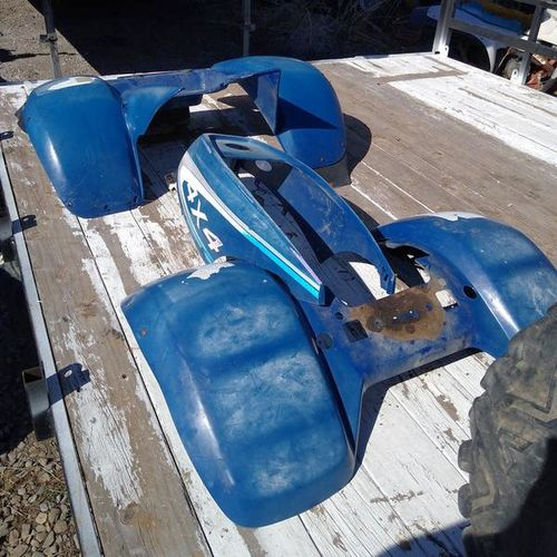 Polaris front and rear fenders plastics for sale in springville , UT
