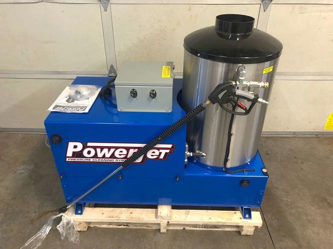 Natural gas heated electric pressure washer for sale in Spanish Fork , UT
