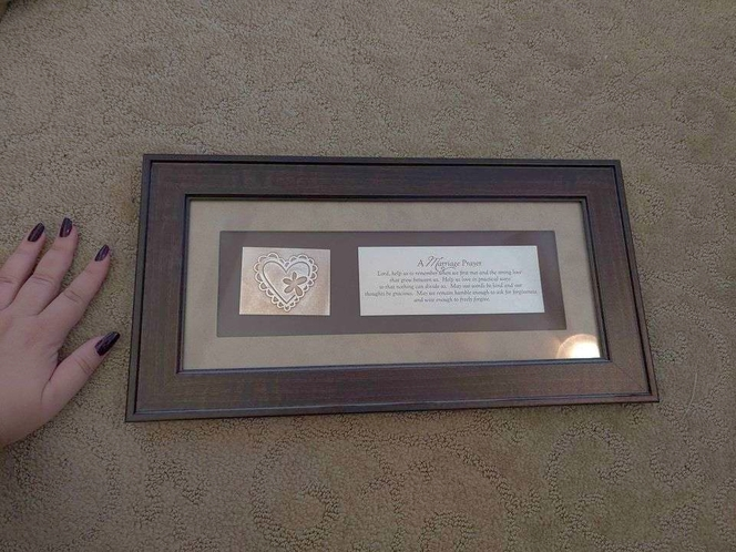 marriage prayer wall hanging for sale in Draper , UT
