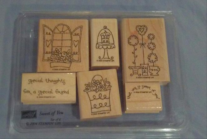 Stampin' Up Stamp Set- Sweet Of You. Year 2004 for sale in Syracuse , UT