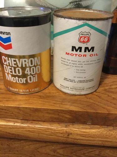 Vintage oil cans for sale in Salt Lake City , UT