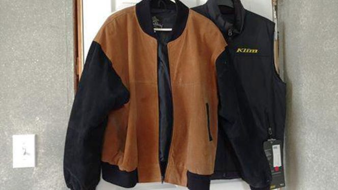 Suede Leather Jacket for sale in Sunset , UT