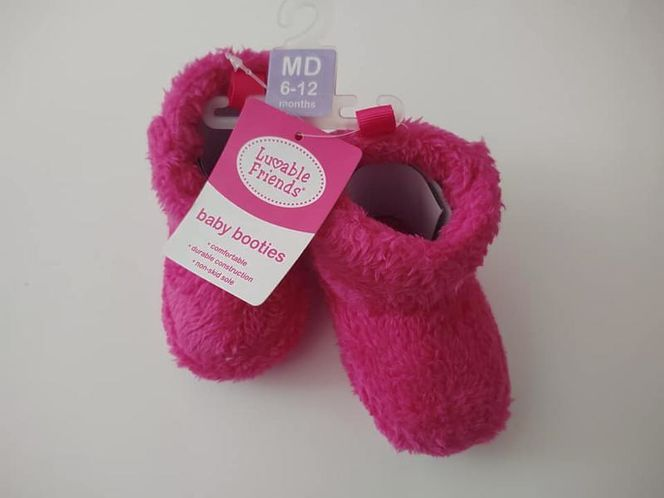 Pink Baby Booties/Slippers for sale in Clearfield , UT