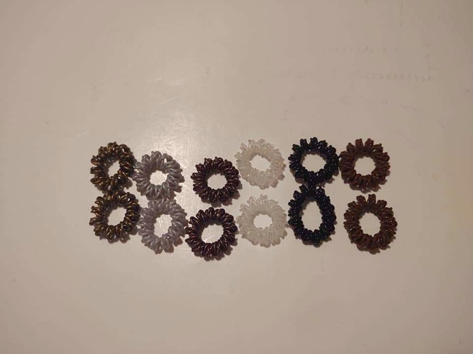 Spiral Hair Ties for sale in Sunset , UT