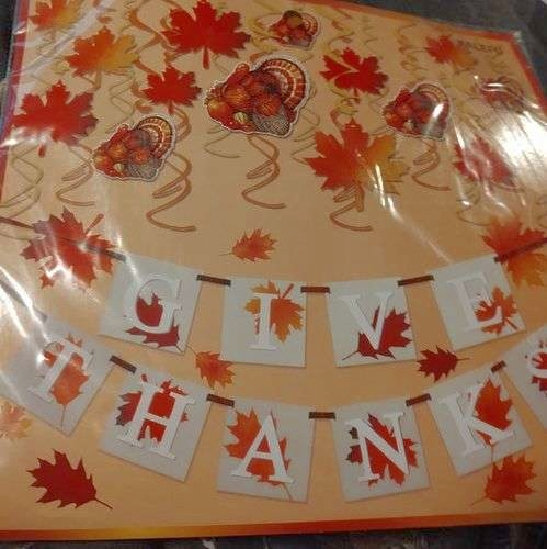 Thanksgiving Banner & Hanging Decorations for sale in Clearfield , UT