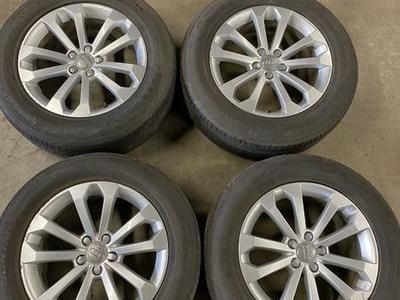 OEM Audi Q5 Wheels And Tires 5x112