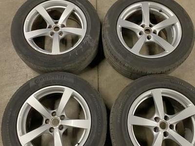 OEM Porsche Macan Wheels and Tires Staggered 5x112